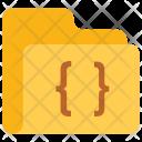 Coding Code Folder Icon