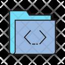 Folder Code File Icon