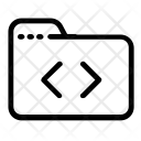 Folder Code Coding Icon