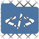 Coding Folder Code Icon