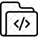 Code Folder Data Icon