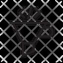 Coding Funnel Icon
