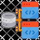 Hosting Server Coding Icon