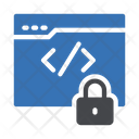 Coding Lock Icon