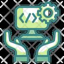 Coding Management Icon