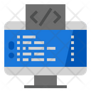 Coding Optimization Development Website Icon