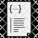 Coding Script Programming Icon