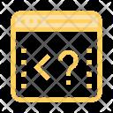 Coding Scripting Internet Icon