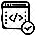 Coding Online Internet Icon