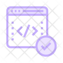 Coding window Icon