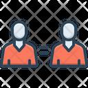 Coequal Common Duplicate Icon