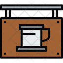 Coffee Shop Travel Icon