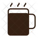 Coffee Glass Brown Icon