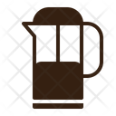 Coffee Press Brown Icon