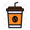 Coffee Cup Iced Icon
