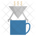 Coffee Drip Camping Icon