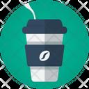 Coffee Take Away Cold Coffe Icon