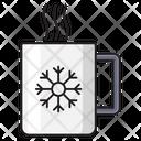 Coffee Tea Snowflake Icon