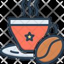 Coffee Bean Aroma Icon