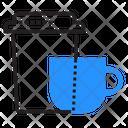 Coffee Break Cups Icon