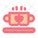 Coffee Love Romantic Icon
