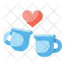 Coffee Dating Date Icon