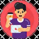 Teacup Coffee Having Tea Icon