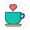 Coffee Coffee Date Love Date Icon