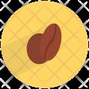 Coffee Bean Caffeine Icon