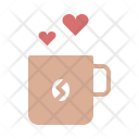 Coffee Cup Love Icon