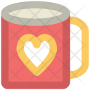 Coffee Mug Heart Icon
