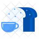 Coffee Bread Morning Icon