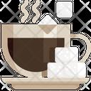 Coffee And Sugar Coffee Sugar Icon