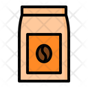 Coffee Bag Bean Icon