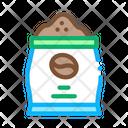 Coffee Production Bag Icon