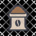 Coffee Bag Coffee Pack Coffee Box Icon