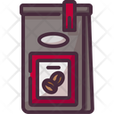 Coffee Bag Product Coffee Beans Icon