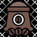 Sack Coffee Bag Roast Icon