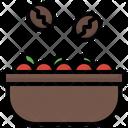 Basket Coffee Beans Coffee Bag Icon