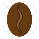Arabica Coffee Bean Icon