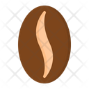 Coffee Bean Seed Icon