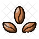 Coffee Bean Caffeine Icon