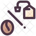 Coffee Bean And Teabag Icon