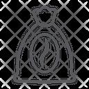 Coffee bean sack Icon