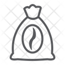 Coffee Bag Sign Icon