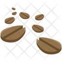 Coffee Beans Seed Icon