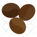 Coffee Beans Seeds Beans Icon