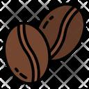 Coffee Bean Seed Icon