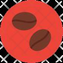 Coffee Beans Grains Icon