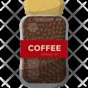 Coffee Beans Jar Icon